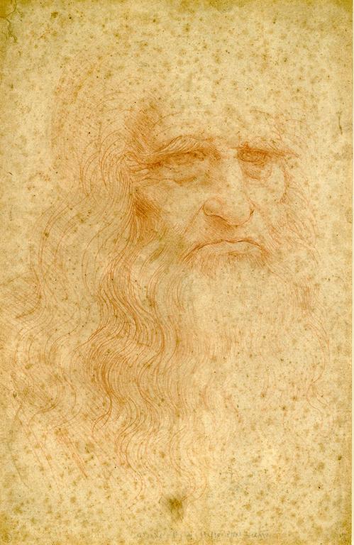 Leonardo da Vinci Autoritratto inv. 15571 B. 229