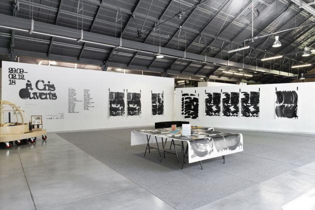 Les Ateliers de Rennes 2018. Installation view at Halle de la Courrouze, Rennes 2018. Photo © Aurélien Mole