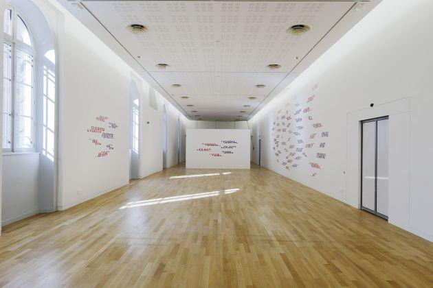 Les Ateliers de Rennes 2018. Installation view at Musée des beaux arts, Rennes 2018. Photo © Aurélien Mole