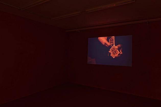 Les Ateliers de Rennes 2018. Paul Maheke. Installation view at Galerie Art & Essai Université Rennes 2 . Photo © Aurélien Mole