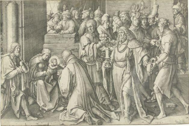 Lucas van Leyden Adoration of the Magi 1513. Amsterdam Rijksmuseum