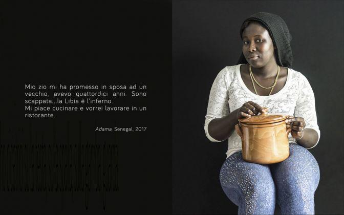 Luisa Menazzi Moretti, Io sono I am, Adama. Photo © Luisa Menazzi Moretti, 2017
