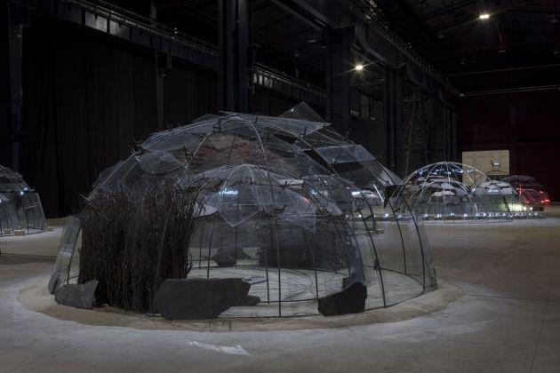 Mario Merz, Igloo del Palacio de las Alhajas, 1982. Installation view at Pirelli HangarBicocca, Milano 2018. Museo Nacional Centro de Arte Reina Sofía, Madrid. Courtesy Pirelli HangarBicocca, Milano. Photo Renato Ghiazza © Mario Merz, by SIAE 2018