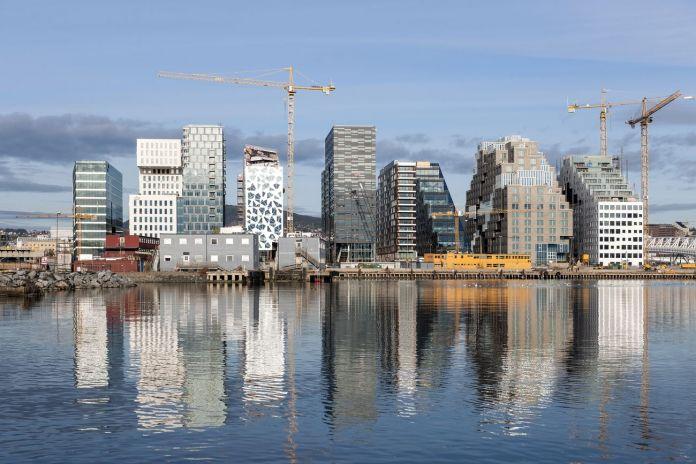 MVRDV, Bjǿrvika Barcode, Oslo. Photo © MVRDV – Jiri Havran