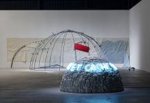 Mario Merz. Igloos. Exhibition view at Pirelli HangarBicocca, Milano 2018. Courtesy Pirelli HangarBicocca, Milano. Photo Renato Ghiazza © Mario Merz, by SIAE 2018