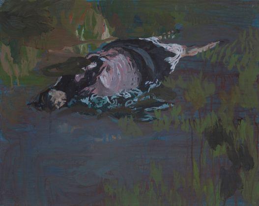Marta Mancini, Senza titolo (Il cadavere), 2011. Photo Sebastiano Luciano