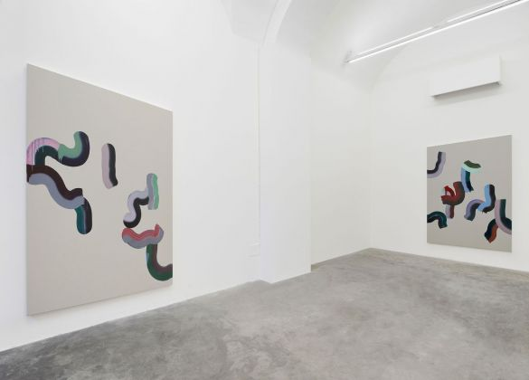 Marta Mancini. La molla. Installation view at Matèria, Roma 2018. Photo © Roberto Apa