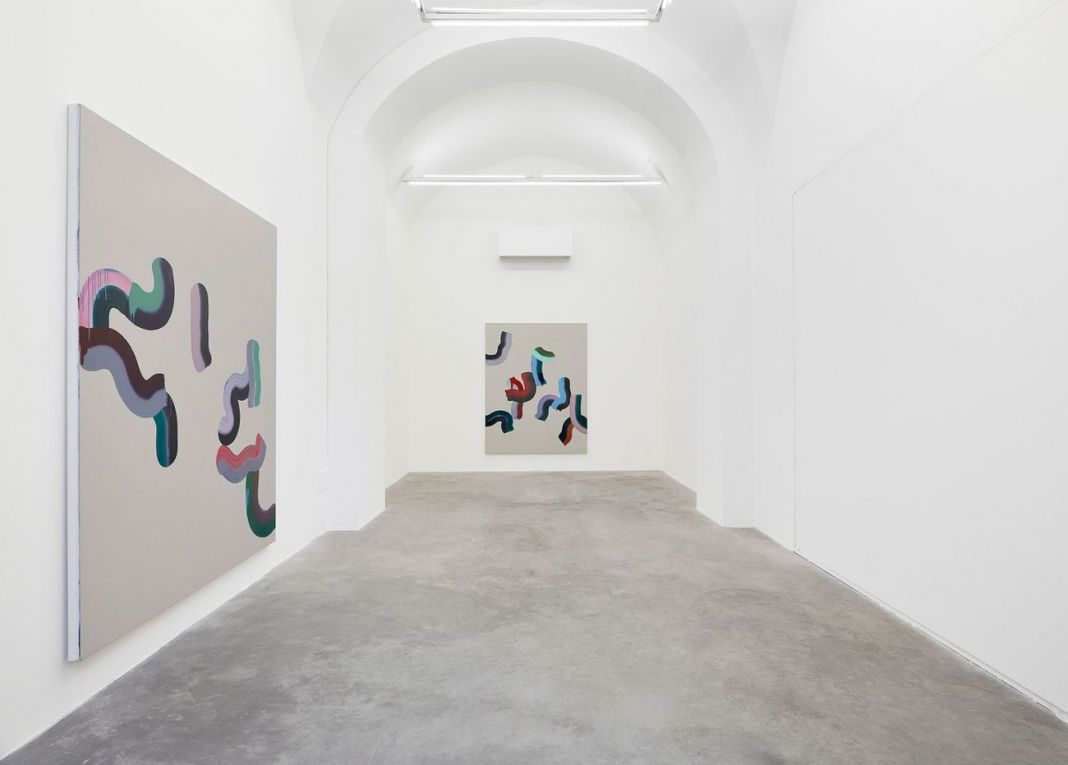 Marta Mancini. La molla. Installation view at Matèria, Roma 2018. Photo Roberto Apa
