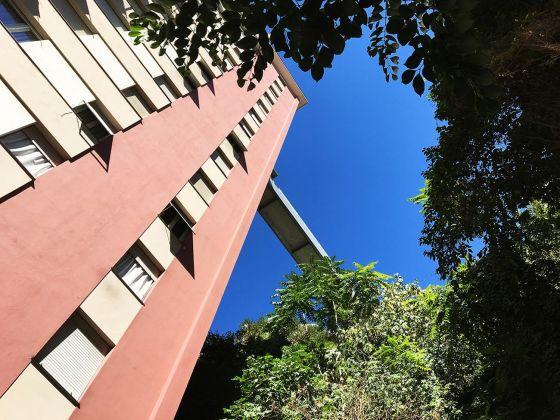 Matteo Orlandi, Via Dino Col Via Mura degli Angeli, passerella e ascensore pubblici. Photo Matteo Orlandi