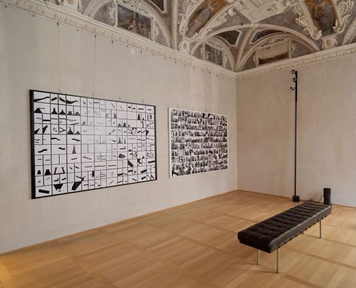 Matteo Orlandi. Passerelle volanti. Installation view at Palazzo Grillo, Genova 2018. Photo Anna Positano Opfot.com