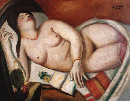 Max Beckmann, Donna addormentata, 1924. Collezione privata © 2018, ProLitteris, Zurich