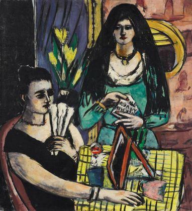 Max Beckmann, Ragazze in nero e verde (Due donne spagnole), 1939. Collezione privata © 2018, ProLitteris, Zurich