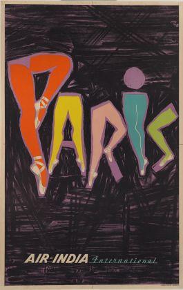 Nargis Wadia, Paris, 1953 © Sotheby's