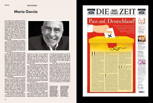 Newspaper Design (Gestalten, Berlino 2018). Pagg. 10-11