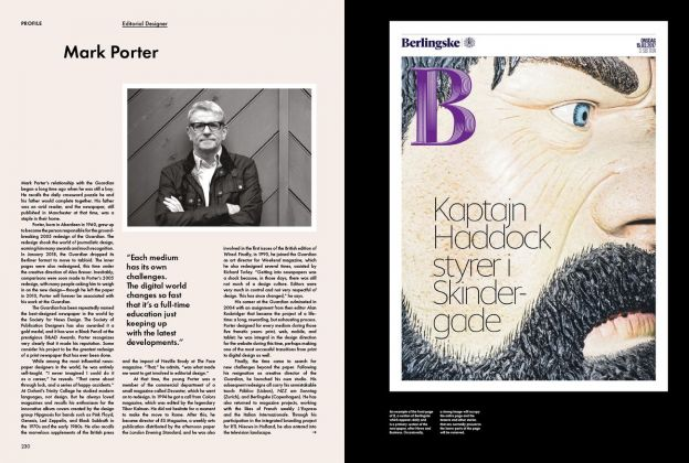 Newspaper Design (Gestalten, Berlino 2018). Pagg. 230-231