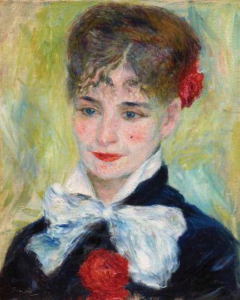 Pierre-Auguste Renoir, Ritratto di signora romena (Madame Iscovesco), 1877. Ordrupgaard, Copenhagen © Ordrupgaard, Copenhagen. Photo Anders Sune Berg. Courtesy Palazzo Zabarella