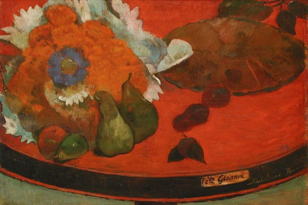 Paul Gauguin, Fête Gloanec, 1888. Musée des Beaux-arts, Orléans Photo © François Lauginie