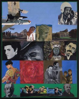 Pauline Boty, It's a Man's World I, 1964. Courtesy Spazio -1, Collezione Giancarlo e Danna Olgiati, Lugano