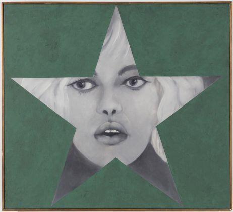 Peter Phillips, Star Card Table, 1962. Courtesy Spazio -1, Collezione Giancarlo e Danna Olgiati, Lugano