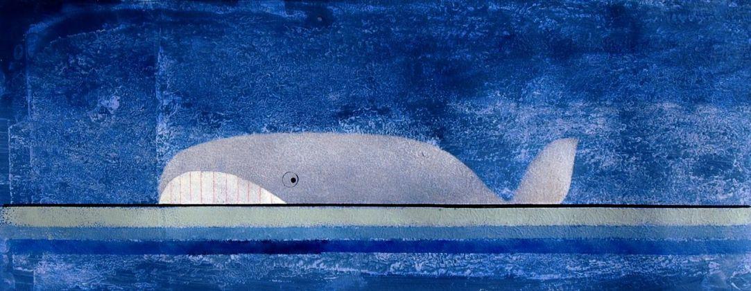 Pino Pascali, Balena azzurra, 1964