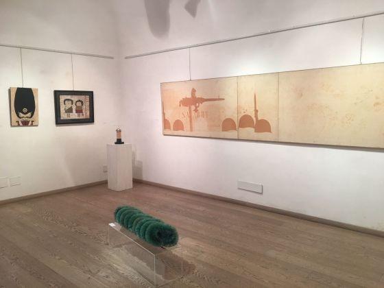 Pino Pascali. Geniale fluidità. Exhibition view at Galleria Edieuropa, Roma 2018