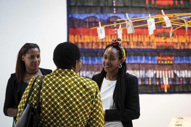 Progetto di mediazione interculturale _Afropolitan_ in occasione della mostra African Metropolis. Una città immaginaria, 2018. Photo credit Musacchio & Ianniello, courtesy Fondazione MAXXI