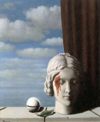 René Magritte, La mémoire, 1948. Collezione della Fédération Wallonie-Bruxelles (FWB) - Ministère de la Communauté française, Bruxelles © 2018 Prolitteris, Zurich