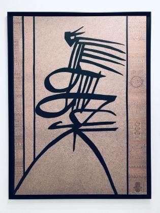 Rachid Koraïchi, L'Amour au bord de l'âme, 2016. October Gallery, Londra