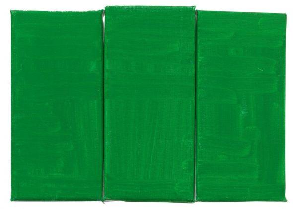 Raoul De Keyser, Green, Green, Green, 2012 © Family Raoul De Keyser. Courtesy SMAK, Gent