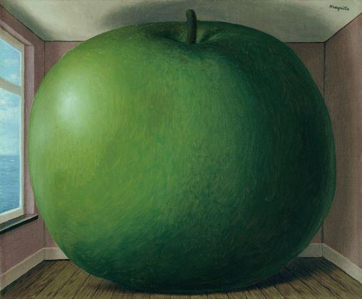 René Magritte, La chambre d'écoute, 1958. Kunsthaus Zürich © 2018 Prolitteris, Zurich