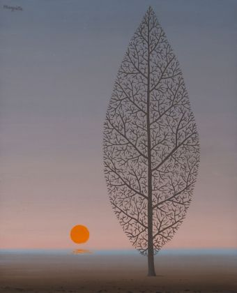René Magritte, La recherce de l'absolu, 1966. Collezione privata, Lugano © 2018 Prolitteris, Zurich