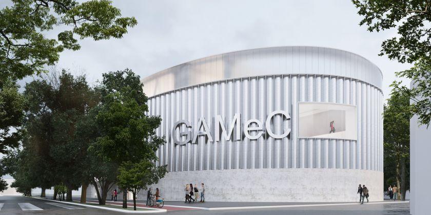 Render della nuova GAMeC di C+S, Cappai e Segantini