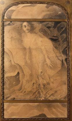 Romolo Romani, Ritratto di Dina Galli, 1908-09, Brescia, Musei Civici d'Arte e Storia – Fondazione Brescia Musei