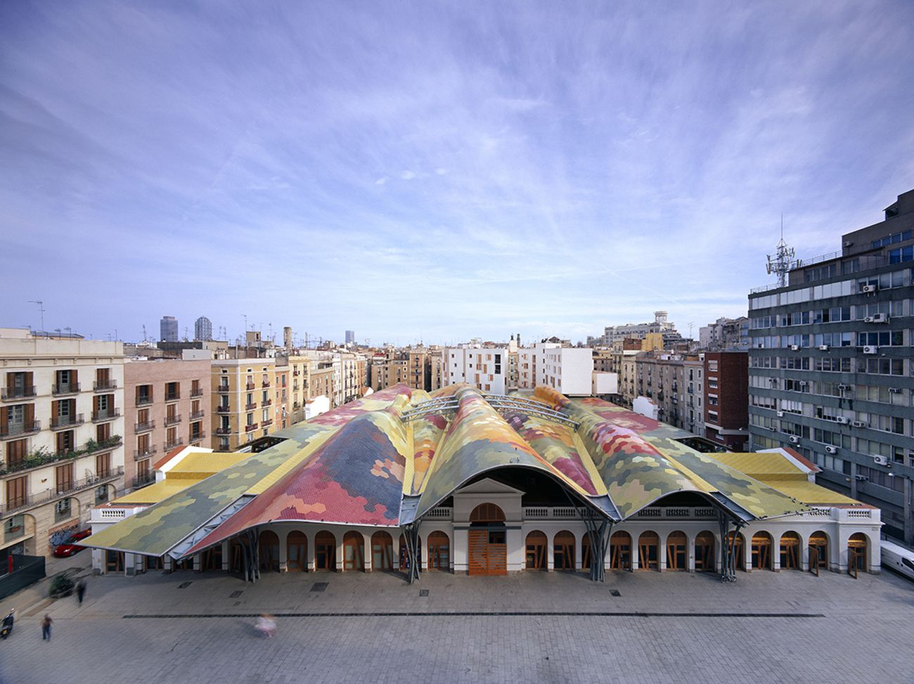 Santa Caterina Market, Barcellona, Spagna. 2005. Photo Roland Halbe. Courtesy studio EMBT