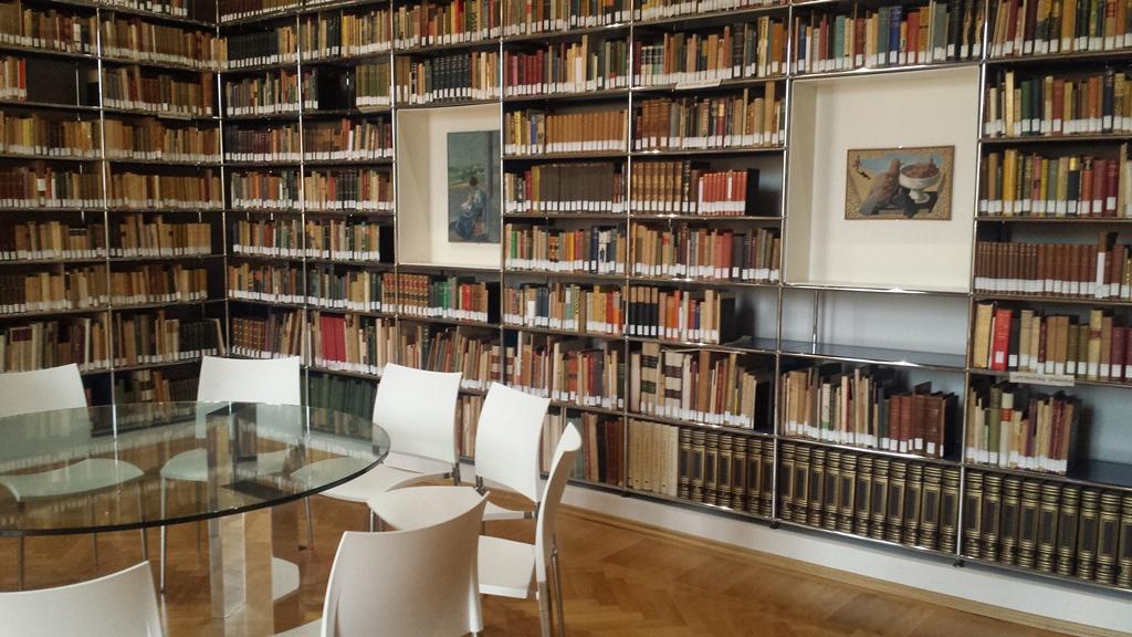 Scorcio della biblioteca