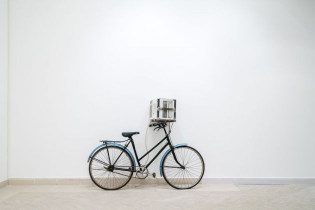 Sislej Xhafa. Rosa azul. Exhibition view at National Fine Arts Museum, Havana 2018. Photo Nestor Kim. Courtesy Galleria Continua, San Gimignano Beijing Les Moulins Habana