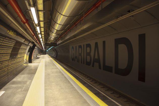 Stazione Garibaldi. foto ANM SpA