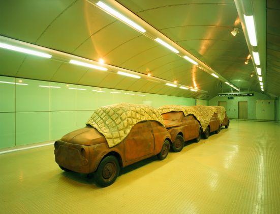 Stazione Salvator Rosa, Perino e Vele, a subway e cchiù sicura. ph Luciano Romano, ANM SpA