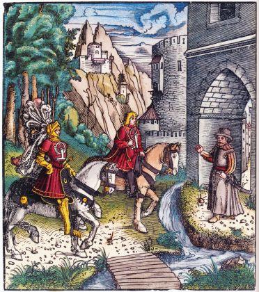 Stephan Füssel – Theuerdank (Taschen, Colonia 2018). Anonimo. Theuerdank, ed. 1517