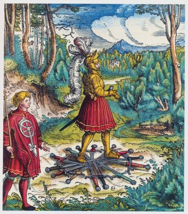 Stephan Füssel – Theuerdank (Taschen, Colonia 2018). Hans Burgkmair & Leonhard Beck, Theuerdank, ed. 1517