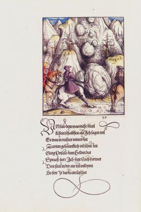 Stephan Füssel – Theuerdank (Taschen, Colonia 2018). Hans Burgkmair, Theuerdank, ed. 1517