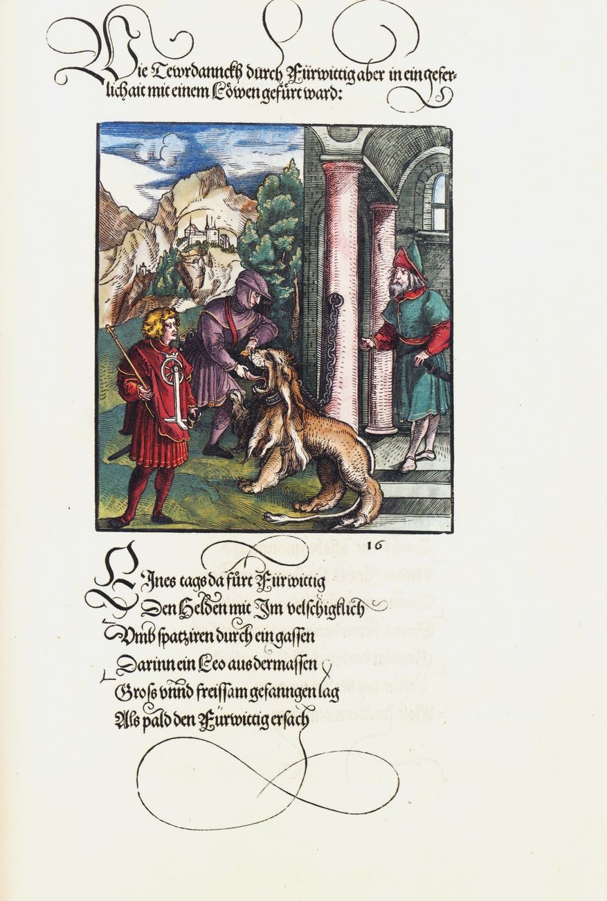 Stephan Füssel – Theuerdank (Taschen, Colonia 2018). Hans Schaüfelein & Leonhard Beck. Theuerdank, ed. 1517