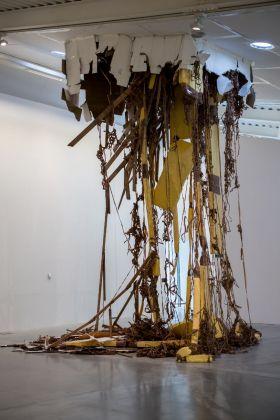 Thomas Hirschhorn, Break Throught (Two), 2016. Comodato della Fondazione Cassa di Risparmio di Prato. Courtesy Centro Pecci. Photo Silvia Bavetta
