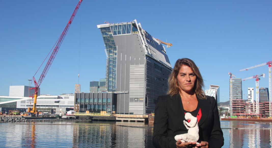 Tracey Emin con The Mother. Copyright Kulturetaten (Agency for Cultural Affaris, Oslo Municipality)