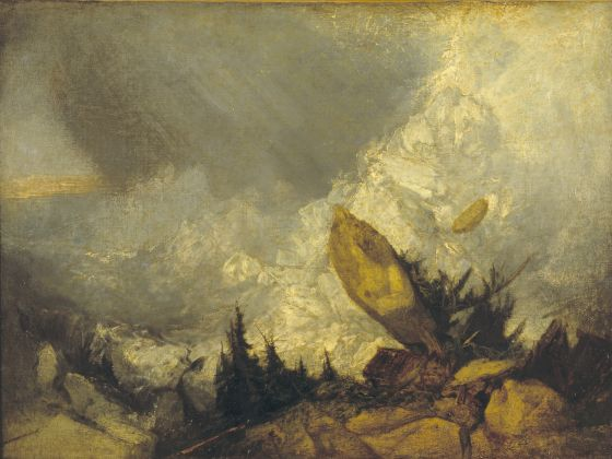 Joseph Mallord William Turner,The Fall of an Avalanche in the Grisons, exhibited 1810, Tate