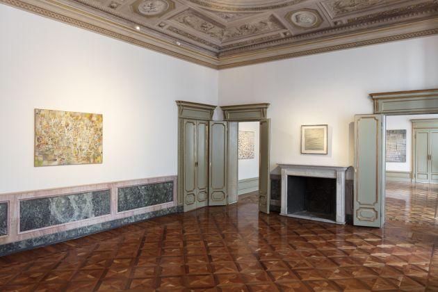 Twombly e Tancredi. Omaggio a Cardazzo. Exhibition view at Galleria Tommaso Calabro, Milano 2018