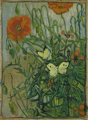 Vincent van Gogh, Farfalle e papaveri, 1889. Van Gogh Museum, Amsterdam (Vincent van Gogh Foundation)