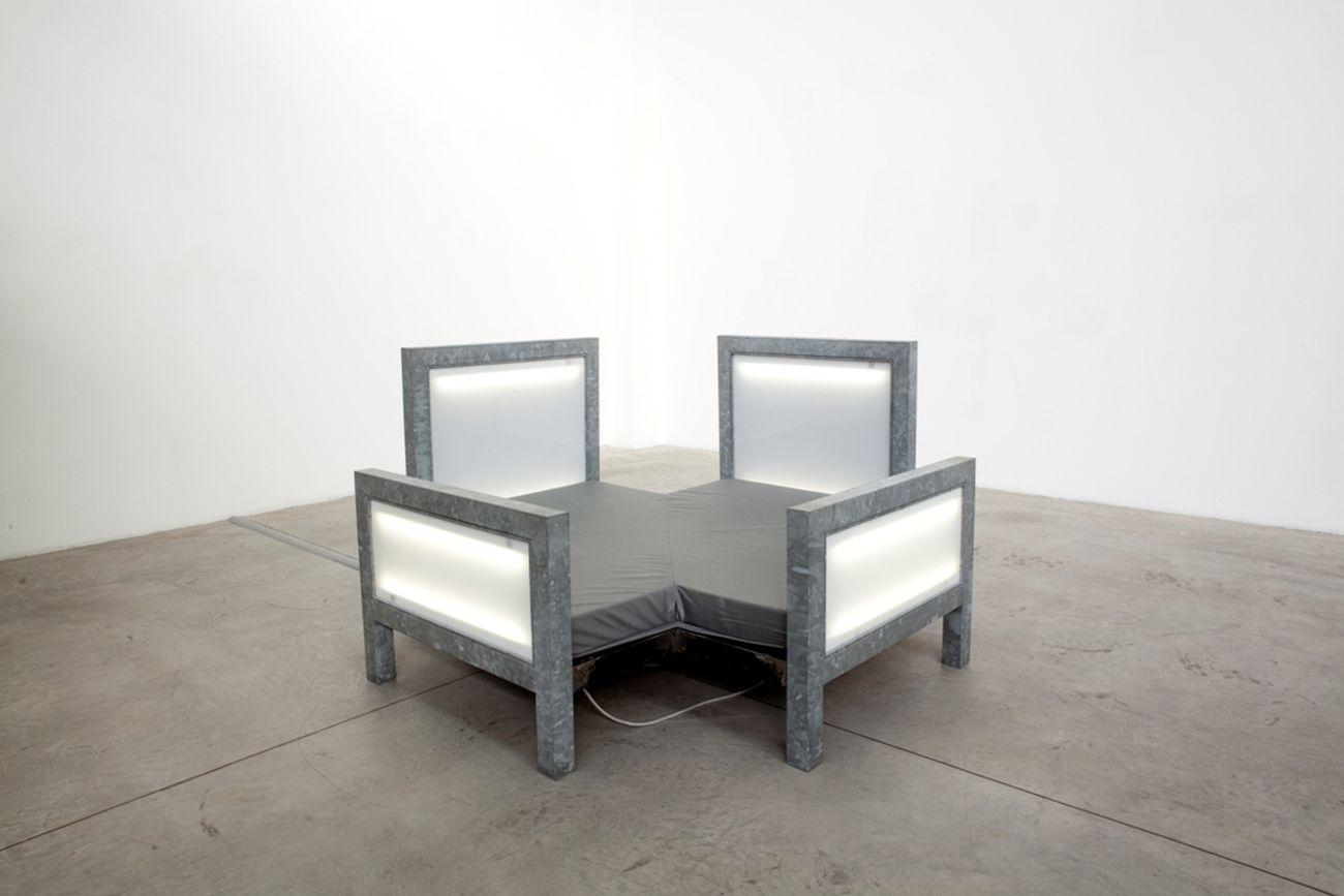 Vito Acconci, Multi Bed # 1, 1992. Courtesy Centro Pecci. Photo Federica Lazza