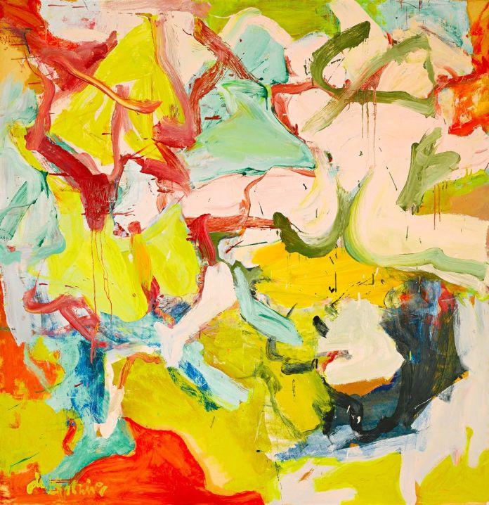 Willem de Kooning, Montauk III, 1969. Courtesy Sotheby's