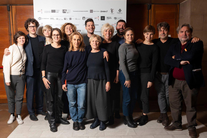 Lo staff de Lo Schermo dell'arte 2018 – Courtesy Camilla Riccò - Lo Schermo dell'arte